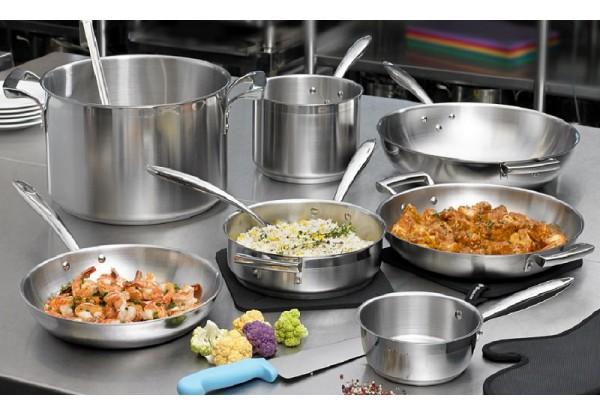 Профессиональная наплитная посуда: сковороды и кастрюли