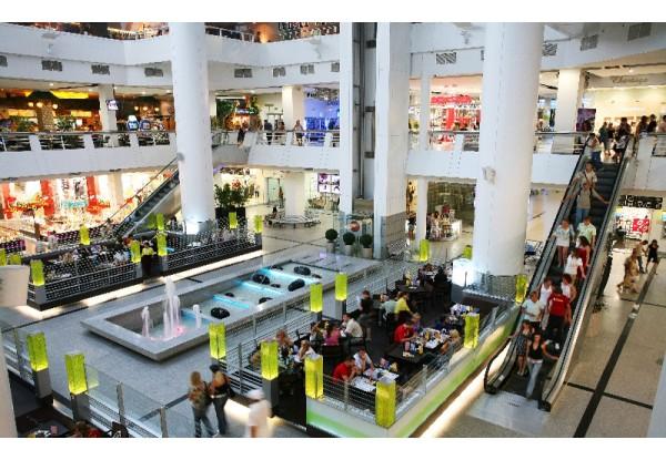 Оборудование для торгово-развлекательного центра в Гиперцентре.