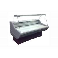 "Холодильная витрина с плоским стеклом РОСС ""Ранетка""1,0, длина 1 м, ширина 0,8 м (от 0 до +8°С)"