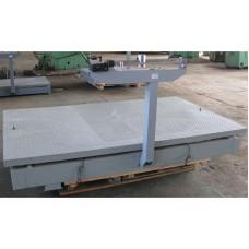 Механические весы Эталон ВТ- 5Ш13 до 5 тонн, точность 5 кг (1500х2500 мм)