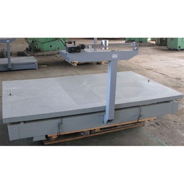 Механические весы Эталон ВТ-3Ш13 до 3 тонн, точность 2 кг (1335х2000 мм)