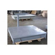 Механические весы Эталон ВТ-2Ш13 до 2 тонн, точность 2 кг (1335х1550 мм)