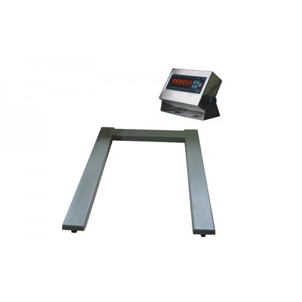 Паллетные весы под гидравлическую тележку ЗЕВС ВПЕ-4 Премиум (1200х800мм) НПВ: 2000кг