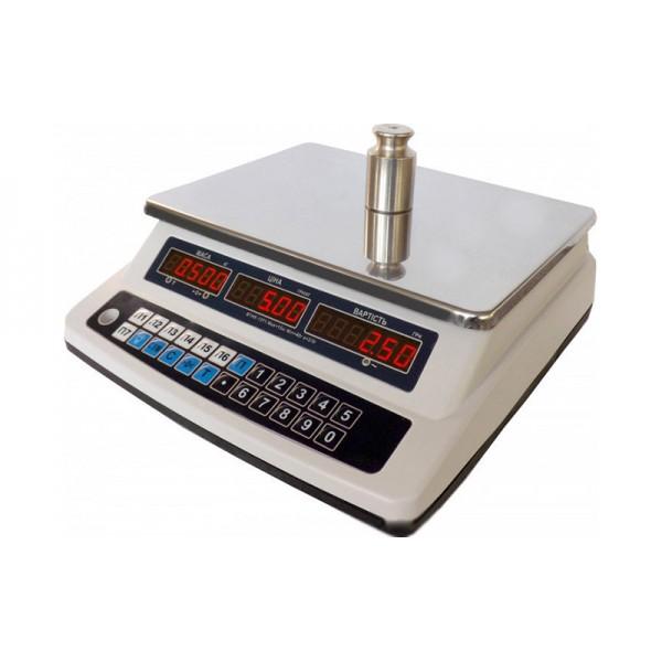 Весы торговые Дозавтоматы ВТНЕ-15Т1 до 15 кг