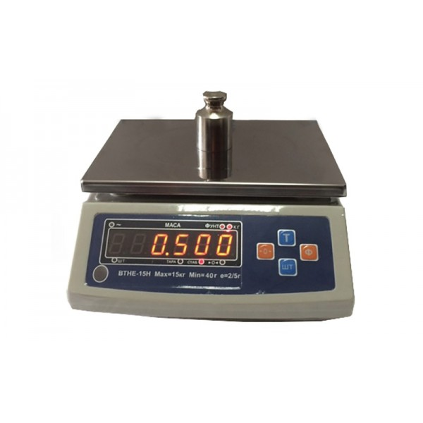 Весы фасовочные Дозавтоматы ВТНЕ-15Н до 15 кг, дискретность 2/5 г