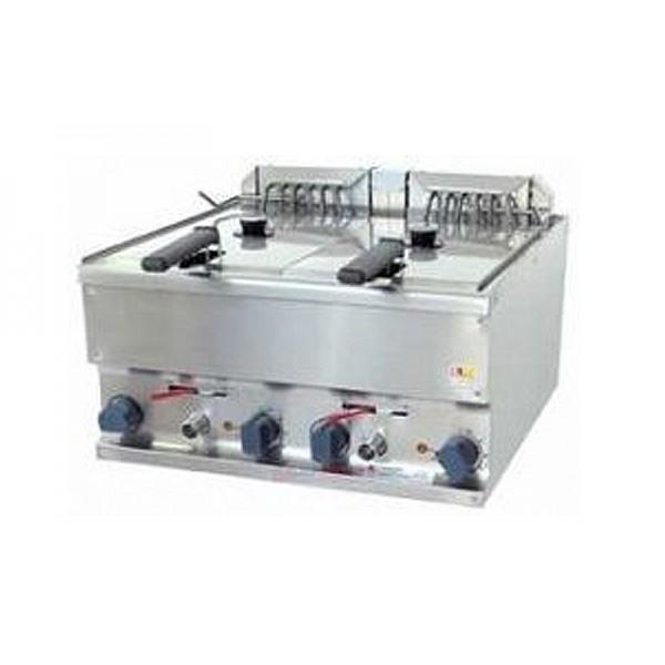 Электрическая настольная фритюрница Kogast EF-T40/2 (две ванны по 5 л)