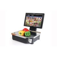 Торговые электронные весы со стойкой  Штрих-РС200 С до 15 кг, точность 2/5 г с печатью этикетки