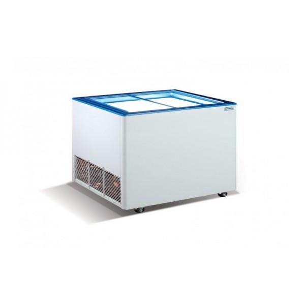 Морозильный ларь с прямым стеклом Crystal ЭКТОР 16 SGL (2 корзины)