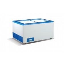 Морозильный ларь с прямым стеклом Crystal ЭКТОР 26 SGL (3 корзины)