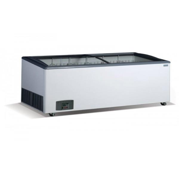 Морозильный ларь гнутое стекло Crystal VENUS SGL 56 (6 корзин)