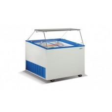Морозильные лари для мягкого мороженного Crystal VENUS VITRINE 16 (гнутое стекло)
