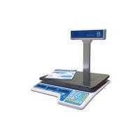 Весы торговые Вагар со стойкой VP-6/15 M, LCD до 6/15 кг, точность 2/5 г, 310 х 230 мм