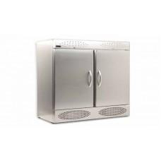 Шкаф морозильный с глухой дверью из нержавеющей стали Crystal CRIF 1300