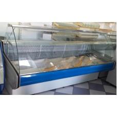 Прилавок витринный холодильный среднетемпературнный «Intel» PVHS-1.2  AISI  (0…+5 °С)