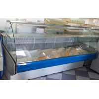 Прилавок витринный холодильный среднетемпературнный «Intel» PVHS-2.0  AISI  (0…+5 °С)