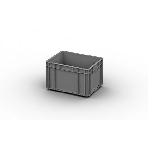 Евроконтейнер ЕС – 4322.2 (400х300х220 мм), сплошное дно