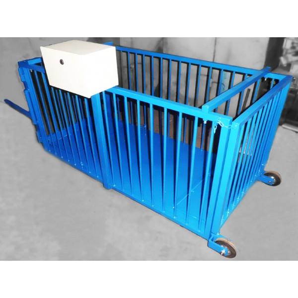 Весы для взвешивания мелкого рогатого скота ВИС 300/500 ВП4-С до 500 кг, 1500х1000х1500 мм