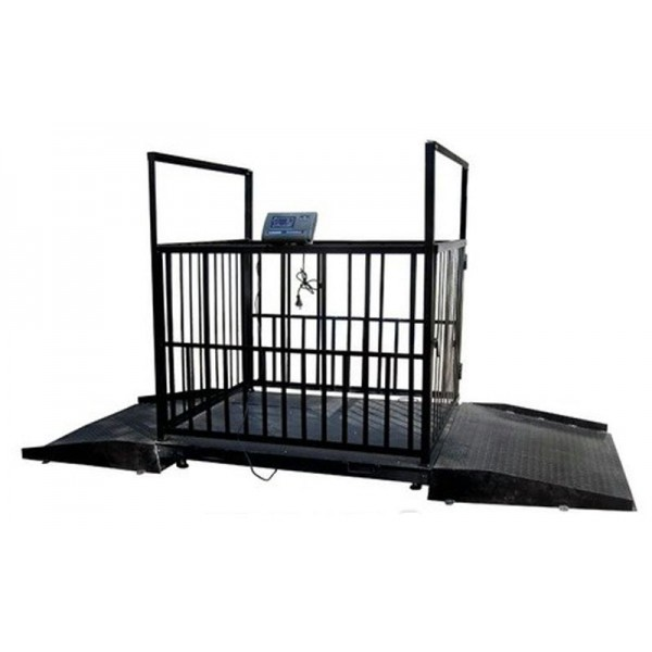 Весы для взвешивания скота ВЭСТ-1500Т7Е 1500х1250 мм НПВ: 1500 кг