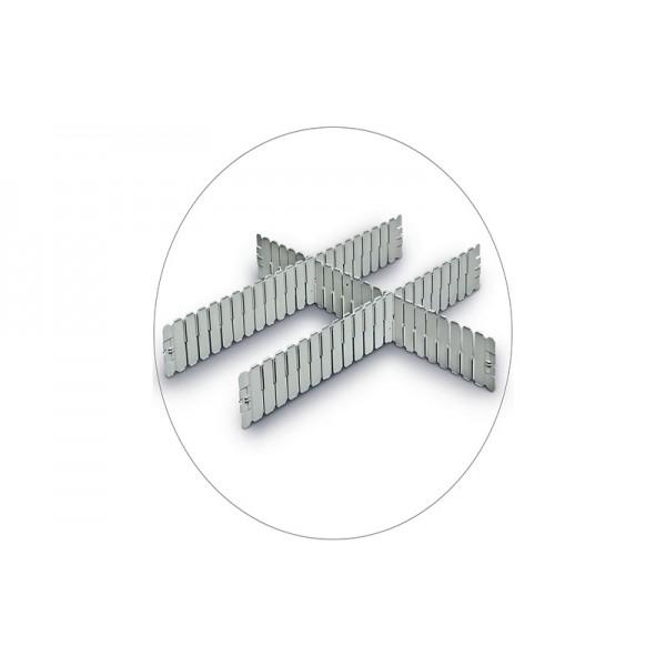 Разделители для контейнеров, DPS 4591 серый (600х85 мм)