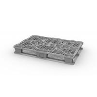 Легкий пластиковый поддон на двух полозьях 1200х800х150 мм (02.102.91.C7/2.Q) серый