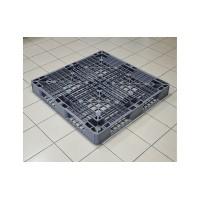 Пластиковый легкий поддон для экспорта 1105х1105x120 мм (02.109.91) серый