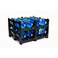 Полимерный поддон для воды BottleRack 1200х1000х380 мм (02.107.C8) черный