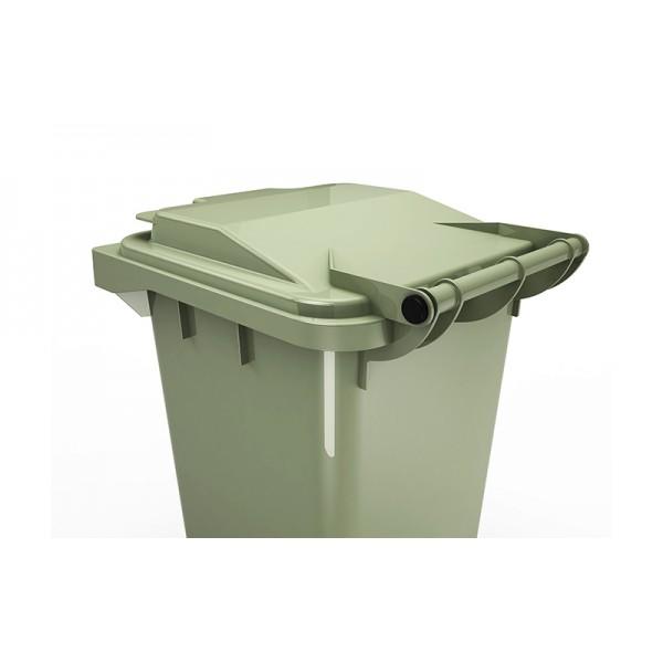 """Деталь мусорного контейнера """"комплект осей крышки"""" 14.908.99.PE (240 л)"""