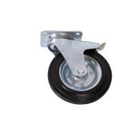 Комплект колесных опор для мусорного контейнера с крепежами 110.С28