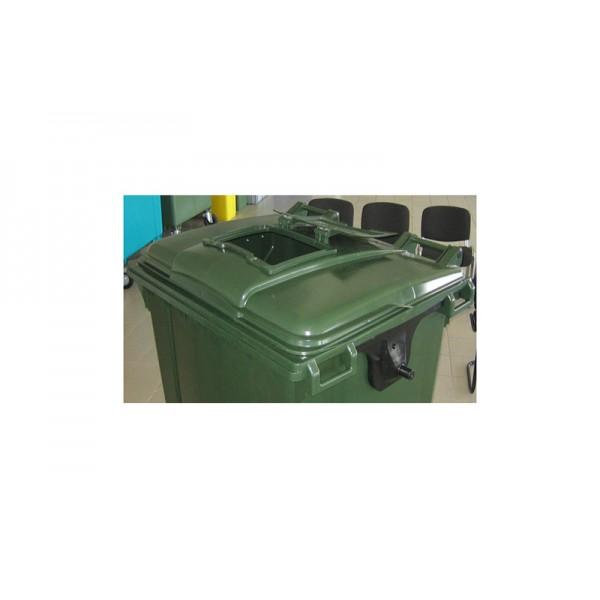 """Комплект крышки передвижного мусорного контейнера """"крышка в крышке"""" (21.050.ХХ.РЕ.W.С24)"""
