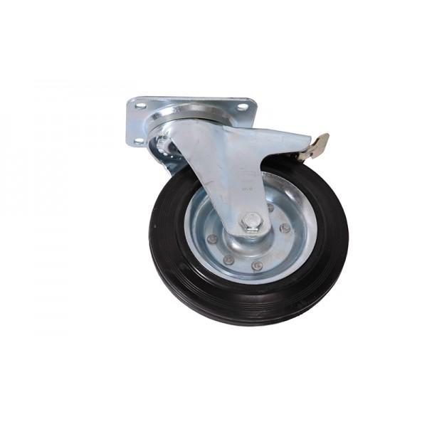 Комплект колесных опор для мусорного контейнера с крепежами (110.С28)