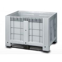 Сплошной контейнер iBox на полозьях 1200х800х800 мм (11.602F.91.РЕ.С9)