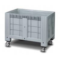Сплошной контейнер iBox на колесах 1200х800х800 мм (11.602F.91.РЕ.С13)