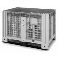 Перфорированный контейнер iBox на полозьях 1200х800х800 мм (11.602.91.РЕ.С9)