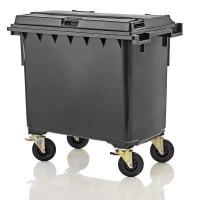 Мусорный контейнер марки W-weber на 660 л (1060x790x1215 мм)
