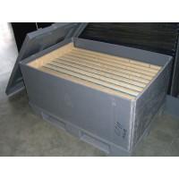 Полимерный разборной контейнер PolyBox Н745 (1200х800х700 мм) серый