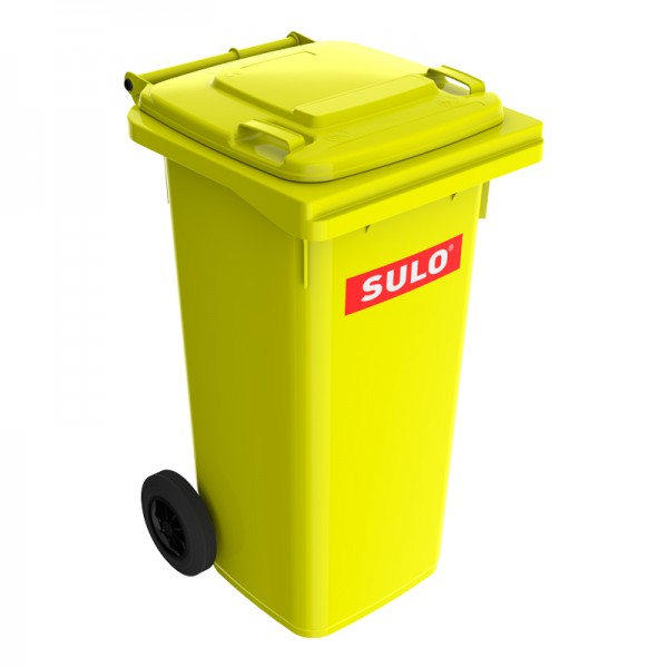 Мусорный контейнер марки SULO (550x500х933 мм) на 120 л, цветные