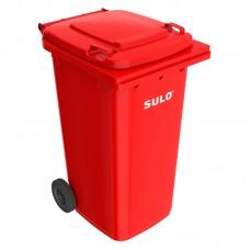 Мусорный контейнер марки SULO (728x582х1075 мм) на 240 л, цветные