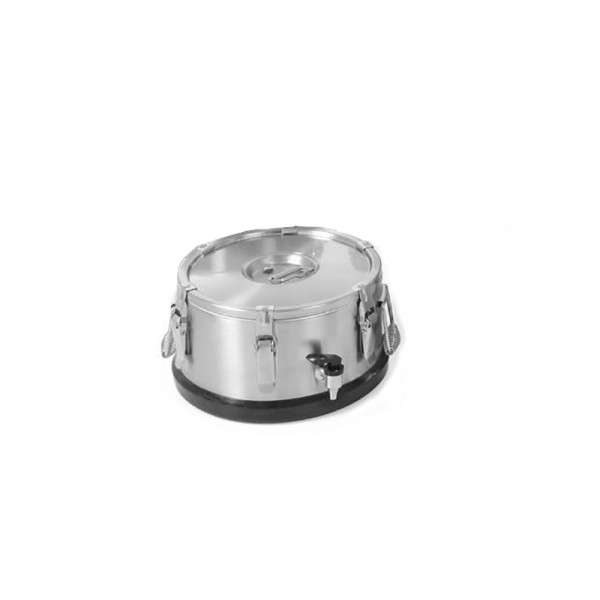 Термос для транспортировки пищи с краном Hendi 710128 на 10 литров