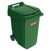 Мусорный контейнер марки SULO (815x640х1097 мм) на 360 л, зеленый