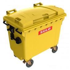 Мусорный контейнер марки SULO (775x1370х1230 мм) на 660 л, цветные