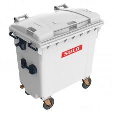 Мусорный контейнер марки SULO (775x1370х1365 мм) на 770 л, серый