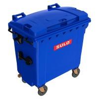 Мусорный контейнер марки SULO (775x1370х1365 мм) на 770 л, цветные