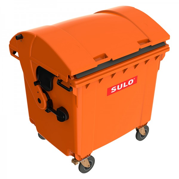 Мусорный контейнер марки SULO (1060x1370х1460 мм) на 1100 л RD, цветные