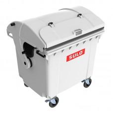 Мусорный контейнер марки SULO (1060x1370х1460 мм) на 1100 л RD did V, серый