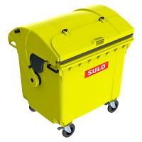 Мусорный контейнер марки SULO (1060x1370х1460 мм) на 1100 л RD did V, цветной