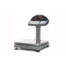 Торговые электронные весы со стойкой Штрих М5 ТА до 15 кг, точность 2/5 г