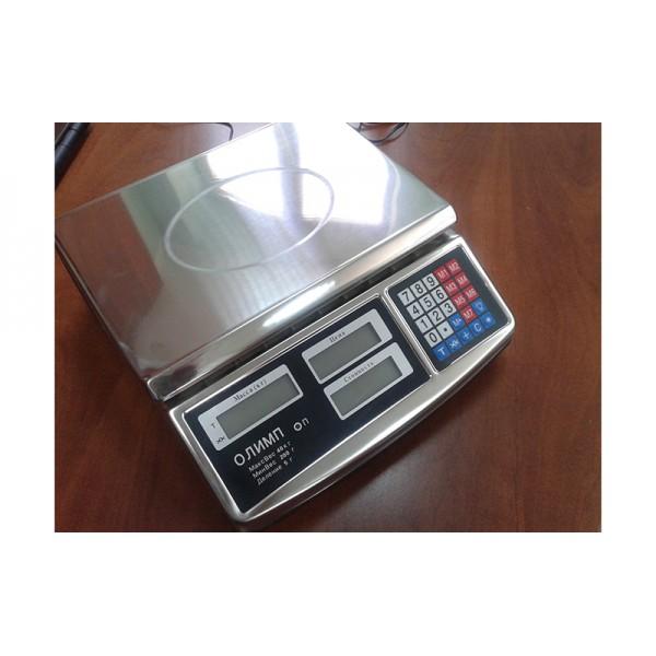 Весы торговые Олимп ACS-701 до 40 кг