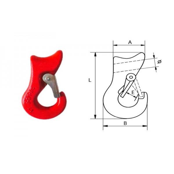 Крюк-чокер типа G80, 1 (5.0т)