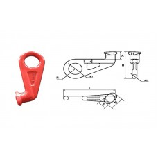 Крюк контейнерный типа G80 SLR-633, 12.5т (правый)