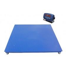 Весы платформенные TRIONYX П1010-СН-1500 Keli до 1500 кг, 1000х1000 мм